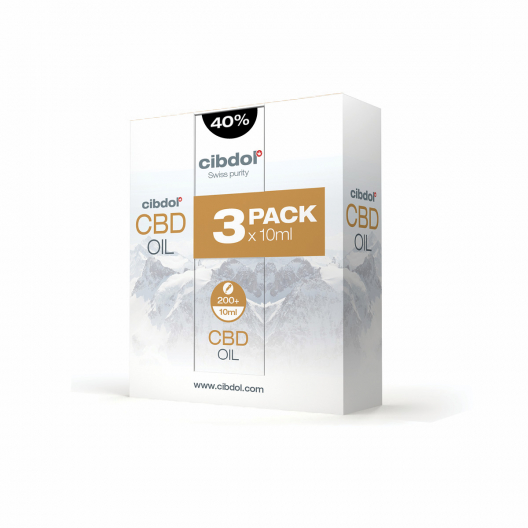 CBD Oil 40% Multipack