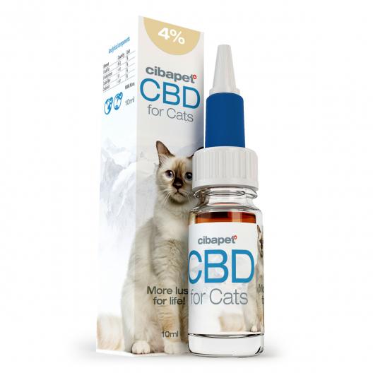 CBD eļļa kaķiem 4%