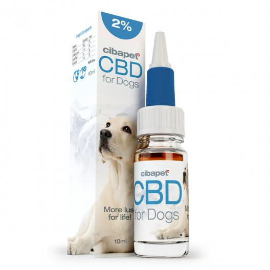 CBD eļļa suņiem 2%