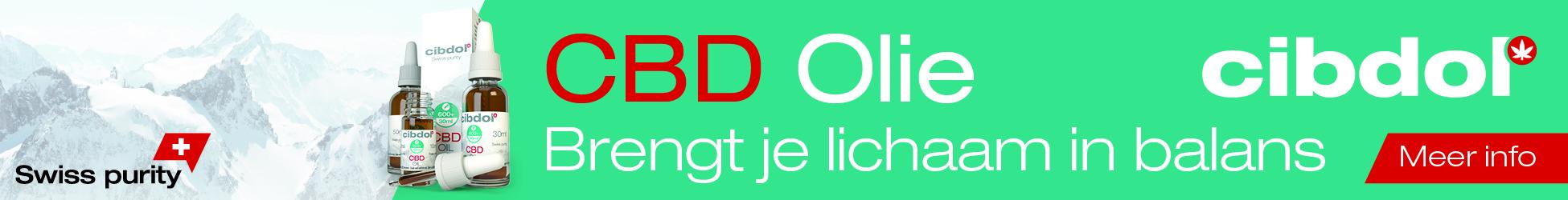 Op deze afbeelding zie je de banner van Cibdol