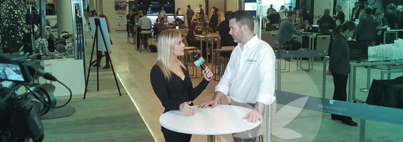 Daniel is doing an interview about Cibdol at the O'Cannabiz Conference & Expo in Vancouver