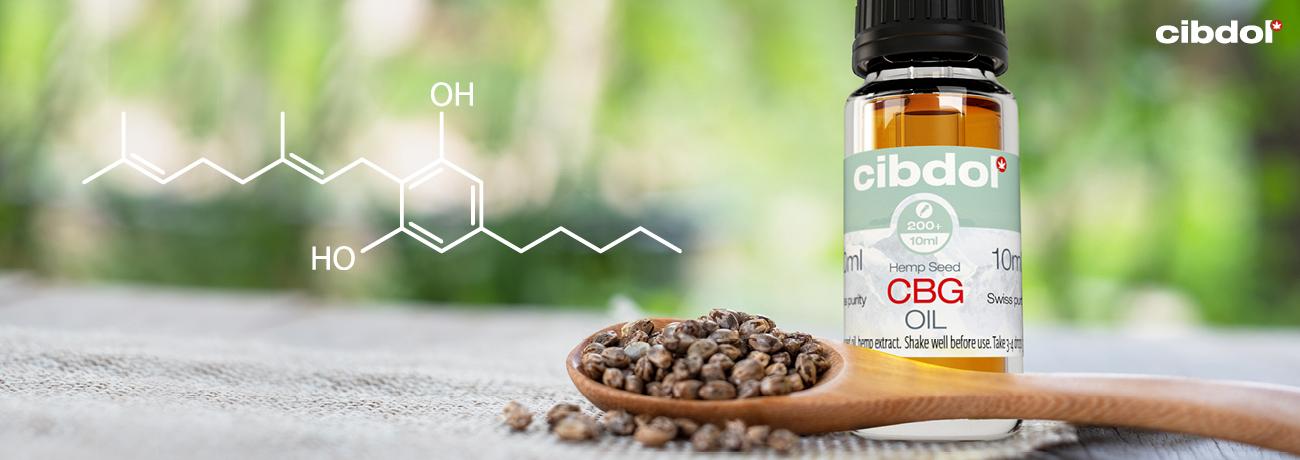 Cibdolin CBG-öljyt