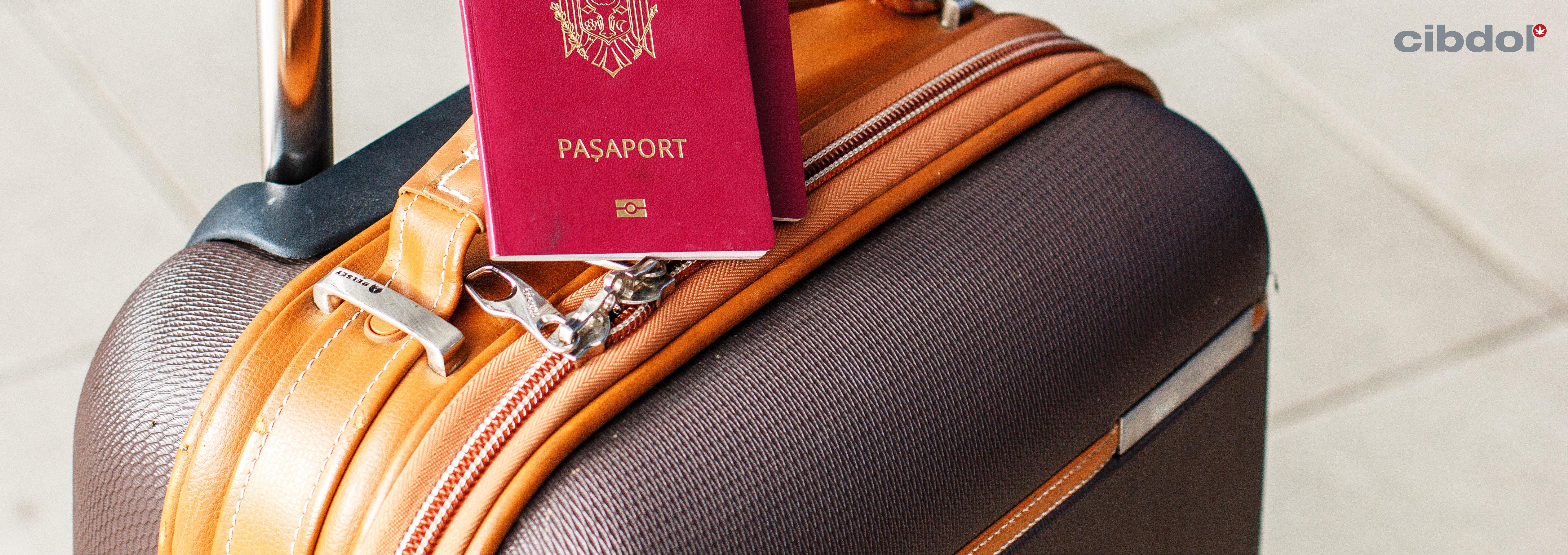 Pode viajar de avião pela Europa, EUA e Canadá com o Óleo CBD?