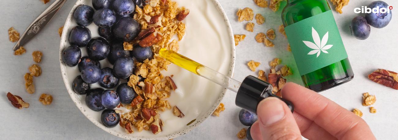Hvordan lage mat med CBD olje