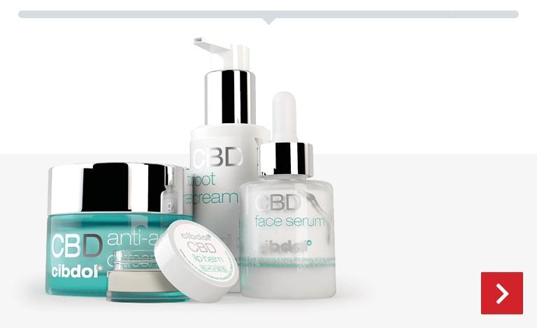 Categoria CBD Beauty, produtos de beleza com cbd