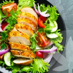 Chicken Salad with CBD Lemon Dressing
